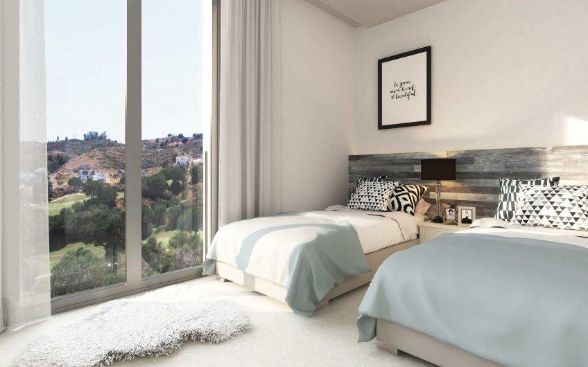 56 casas estilo moderno de 2 y 3 habitaciones Junto al Golf