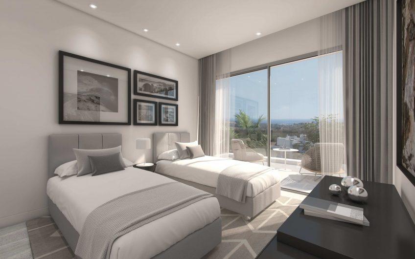 Hermoso complejo de apartamentos de 2/3 habitaciones. Laguna y playa artificial