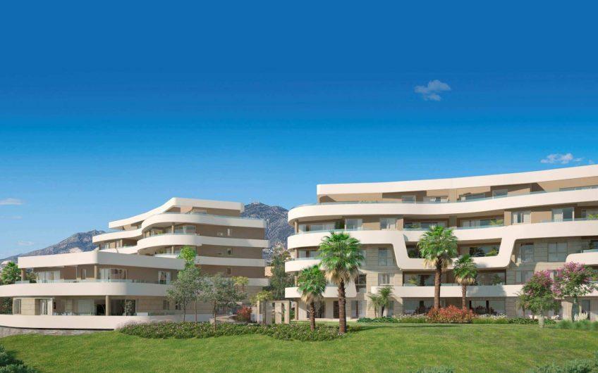 Moderno complejo privado en primera línea de playa